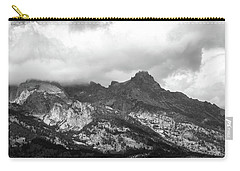 Carry-all Pouch featuring the photograph Mountain Shadows by Colleen Coccia