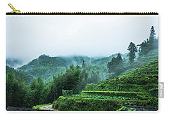 Mountains Scenery In The Mist Carry-all Pouch