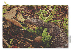 Carry-all Pouch featuring the photograph Mr Bobtail by Cassandra Buckley