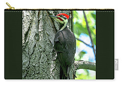 Mr. Pileated Woodpecker Carry-all Pouch