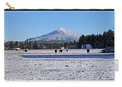 Mt. Pilchuck Carry-all Pouch by Rebecca Parker