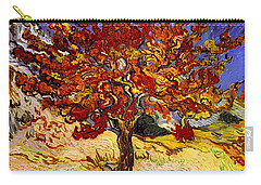 Carry-all Pouch featuring the painting Mulberry Tree by Van Gogh