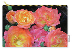 Multi-color Roses Carry-all Pouch
