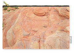 Carry-all Pouch featuring the photograph Multicolored Wave In Valley Of Fire by Ray Mathis