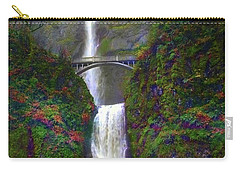 Multnomah Falls Carry-all Pouch by Scott Cameron