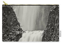 Multnomah Falls Upclose Carry-all Pouch by Don Schwartz