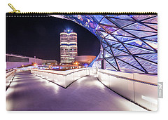 Munich - Bmw Modern And Futuristic Carry-all Pouch by Hannes Cmarits