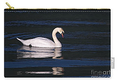 Carry-all Pouch featuring the photograph Mute Swan  by Sharon Talson