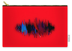 Namaste Spoken Soundwave Carry-all Pouch by Marvin Blaine