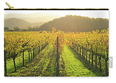 Napa Valley California Vineyard In The Fall Carry-all Pouch