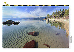 Carry-all Pouch featuring the photograph Nature Speaks by Sean Sarsfield