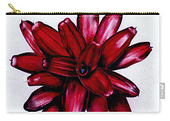 Neoregelia 'christmas Cheer' Carry-all Pouch