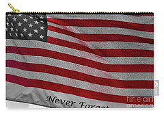 Never Forget Carry-all Pouch by Jim Lepard