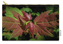 New Leaves Carry-all Pouch by Henri Irizarri