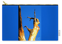 New Orleans Bird Tree Sculpture In Louisiana Carry-all Pouch by Michael Hoard