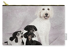 Fur Friends Carry-all Pouch by Erika Weber