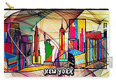 New York By Nico Bielow Carry-all Pouch