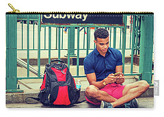 New York Subway Station Carry-all Pouch