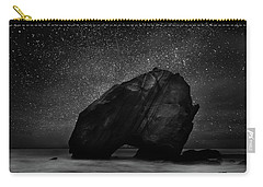 Carry-all Pouch featuring the photograph Night Guardian by Jorge Maia