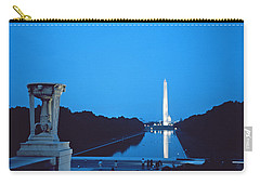 Night View Of The Washington Monument Across The National Mall Carry-all Pouch