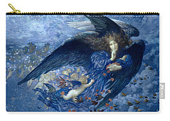 Night With Her Train Of Stars Carry-all Pouch