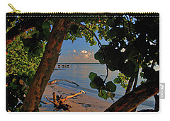 Carry-all Pouch featuring the photograph 1- North Palm Beach by Joseph Keane