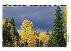 Carry-all Pouch featuring the photograph North Rim Fall  by Broderick Delaney