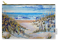 Carry-all Pouch featuring the painting North Topsail Beach by Jim Phillips