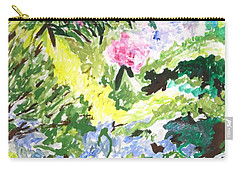 Carry-all Pouch featuring the painting Northern Glen by Esther Newman-Cohen