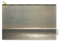 Not Quite Rothko - Twilight Silver Carry-all Pouch