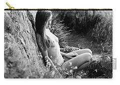 Nude Girl In The Nature Carry-all Pouch