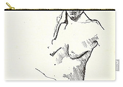 Nude Three Carry-all Pouch