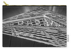 Carry-all Pouch featuring the photograph Nyc West 57 St Pyramid by Susan Candelario