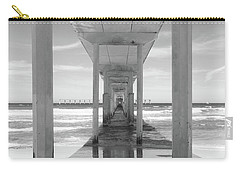 Carry-all Pouch featuring the photograph Ocean Beach Pier by Ana V Ramirez