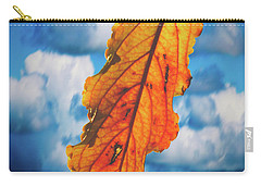 October Leaf B Fine Art Carry-all Pouch