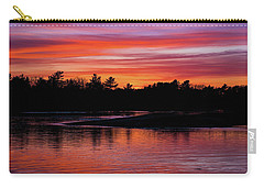 Odiorne Point Sunset Carry-all Pouch