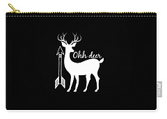 Ohh Deer Carry-all Pouch
