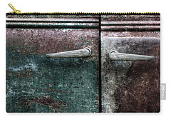 Carry-all Pouch featuring the photograph Old Car Weathered Paint by Carol Leigh
