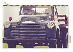Old Chevy Farm Truck In Vermont Square Carry-all Pouch