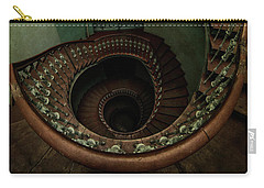 Old Forgotten Spiral Staircase Carry-all Pouch