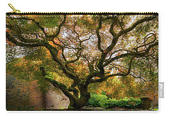 Old Japanese Maple Tree Carry-all Pouch