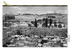 Old Jerusalem Carry-all Pouch by Munir Alawi