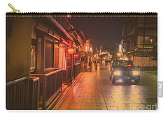 Old Kyoto, Gion Japan Carry-all Pouch