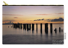 Carry-all Pouch featuring the photograph Old Naples Pier by Kelly Wade