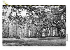 Old Sheldon Church - Tree Canopy Carry-all Pouch by Scott Hansen