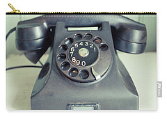 Old Telephone Square Carry-all Pouch