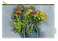 Olde Vintage Bicycle Carry-all Pouch