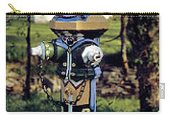 Carry-all Pouch featuring the photograph Oldenburg Fireplug by Gary Wonning