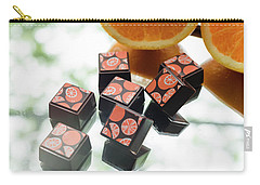 Orange Burst Carry-all Pouch by Sabine Edrissi