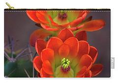 Carry-all Pouch featuring the photograph Orange Ya Beautiful  by Saija Lehtonen